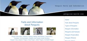 Penguin Facts  Emperor Penguins  Adelie Penguins  King Penguins